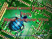 Amazing facts About Computer virus