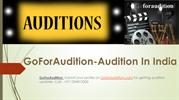 How to become an actor through Audition For TV Serial In Delhi
