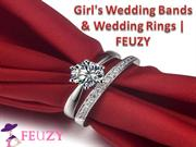 Girl's Wedding Bands & Wedding Rings | FEUZY