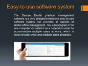Easy-to-use software system