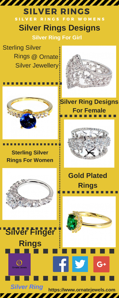 c3dc448b15 Silver Rings : Purchase Best Sterling Silver Rings Online India ...