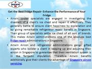 Get the Best Fridge Repair- Enhance the Performance of Your Fridge