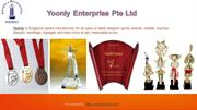 Best Online Trophy Manufacturer in Singapore | Yoonly.com