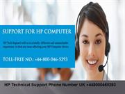 HP Computer Support Phone Number +448000465293 UK