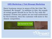 SMS Marketing |Text Message Marketing