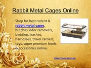 Rabbit Metal Cages Online