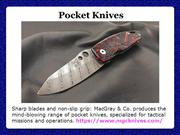 American made Pocket Knives
