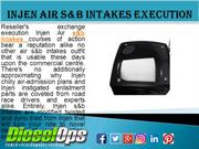Injen Air s&b Intakes Execution