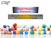 Helping Pharmacies to Maintain USP 797 Standards for Hospitals - Clini