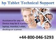 HP Tablet Support Phone Number UK +448000465293