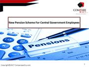 New Pension Scheme For Central Government Employees