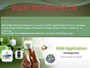 Affordable Website Development Company in Delhi - Website Development