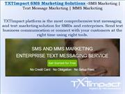 SMS Marketing | MMS Marketing | Text Messaging Service For Business