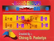 BLOOD GROUP .ppt       by CHIRAG