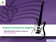 Take Affordable Guitar lessons in Los Angeles at Takesessions