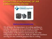Effortless Purchasing of Air Conditioners Online
