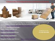 Hyderabad PACERS AND MOVERS
