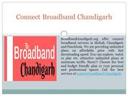 Connect Broadband Services at Chandigarh Mohali