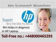 HP Laptop Support Phone Number UK +448000465293