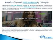 SMS MARKETING | TEXT MESSAGE MARKETING