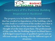 Importance of Pre Purchase Building Inspection in Auckland