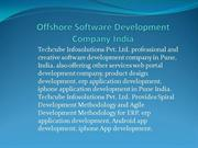 offshore software development company India