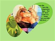 when miss piggy met kermit