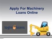 Machinery Loan Providers in Hyderabad,Apply For Machinery Loans Online