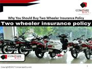 Why You Should Buy Two Wheeler Insurance Policy