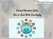 Virtual Assistant Guide: How to Deal With Overloading