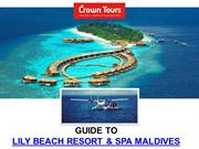 Lily Beach Resort and Spa Maldives - PPT