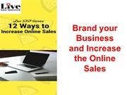 12 Ways to Increase the Online Sales