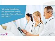 Online Consultation and Appointment Booking App