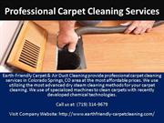 professional carpet cleaning services colorado springs