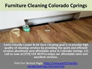 Furniture cleaning  Service colorado springs