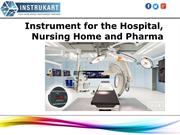 Hospital Operation Theatre Instruments Online