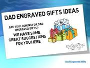 Dad Engraved Gifts Ideas