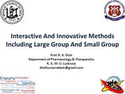 Final_ Dixit_Interactive And Innovative Methods Including Large Group