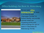 Office Rental FL Areas