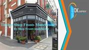 Timber Shop Fronts Manchester