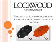 The Good Quality Umbrella Online at Lockwood Umbrellas