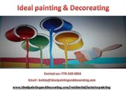 Affordable and best painters in west Vancouver and south Vancouver.
