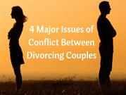 Four Major Issues of Divorcing Couple
