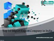 Top 10 Import Export Company in India