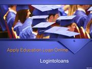 Education Loan Providers in Hyderabad, Apply For Education Loans