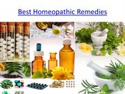 Best Homeopathic Remedies PPT