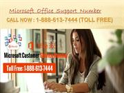 MS Office Support  1-888-613-7444 MS Helpline