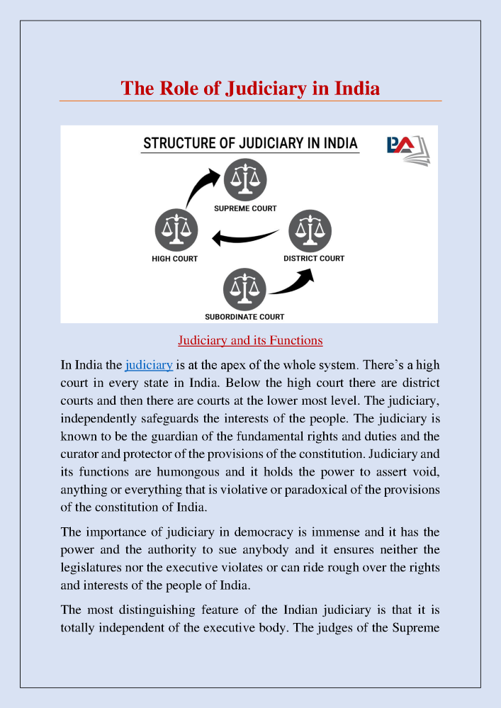 functions of the supreme court of india