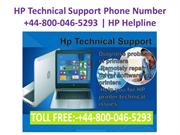 HP Technical Support Phone Number +44-800-046-5293 | HP Helpline