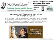 Cleaning And Maids Services Providing Company In California